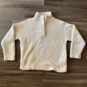 Aerie Sherpa Pullover Sweater